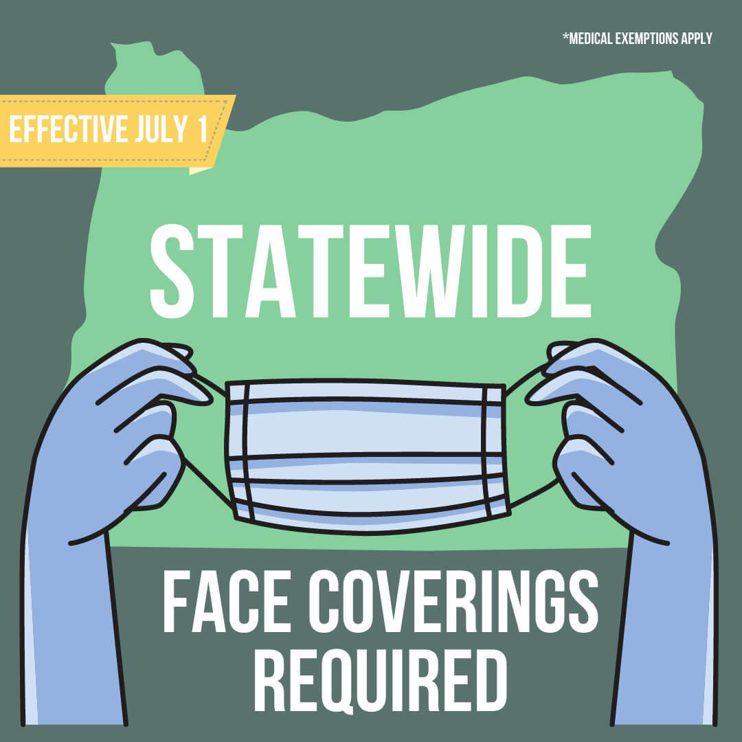 Masks required statewide effective July first