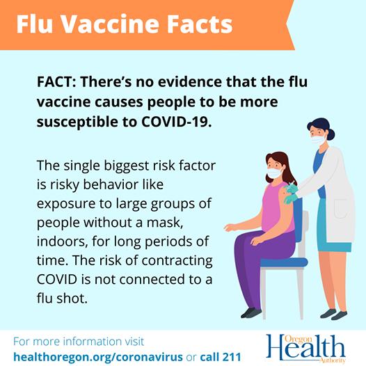 flu vaccine and covid
