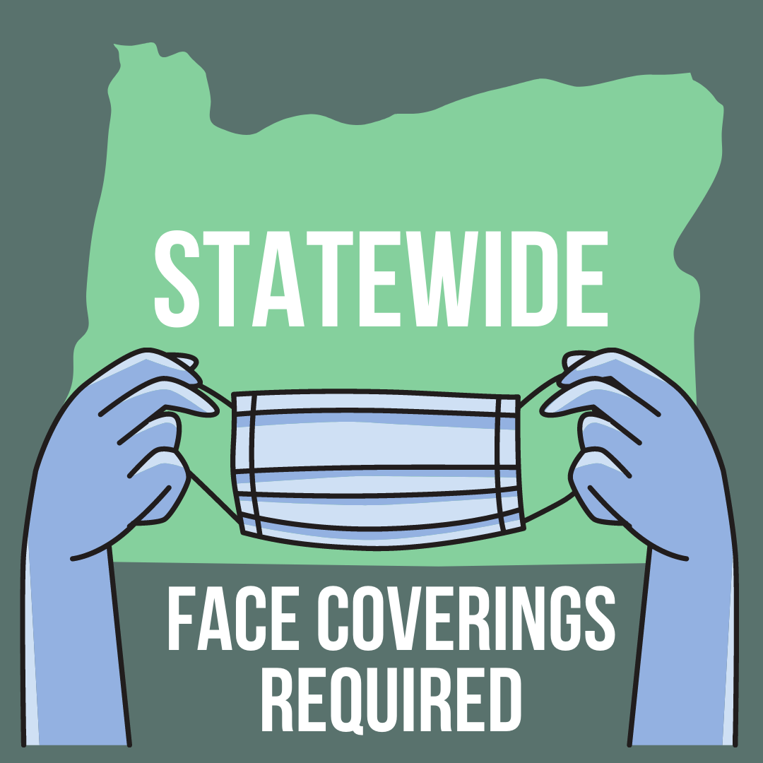 Face coverings required statewide